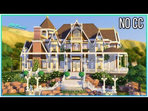 Sims 4 Speed Build - Lemon Mansion | Kate Emerald thumbnail