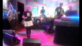 The Cardigans at MTV Most Wanted show on 25. July 1995.