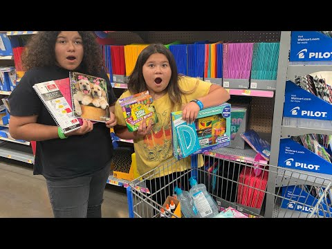 Back to School Shopping at Walmart 2019! Huge Back to School Shopping Haul