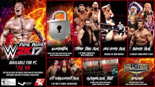WWE 2K17 - Is Live On PC Trailer - English