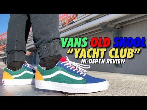 Vans Yacht Club Old Skool (Dope or Nope) YouTube