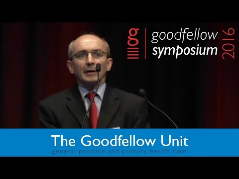 Goodfellow Unit Symposium 2016 - Cameron Grant - Contemporary paediatric issues for primary care
