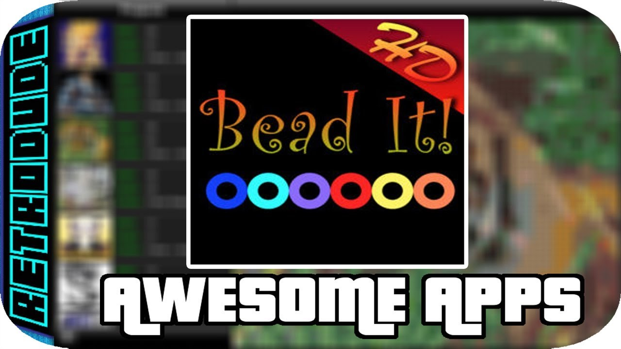 Awesome apps Bead it HD