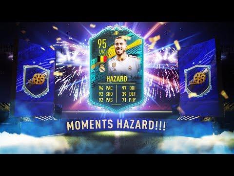 INSANE 95 LW MOMENTS EDEN HAZARD! - FIFA 20 Ultimate Team