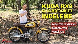 Kuba RX9 50 cc Motosiklet İnceleme