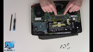 Acer Aspire VX15 RAM Upgrade / Removal Disassembly Video - Gaming Laptop