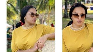 Muonekano mpya wa mke wa Alikiba, Amina pamoja na ujumbe wake kwa mwaka 2020!