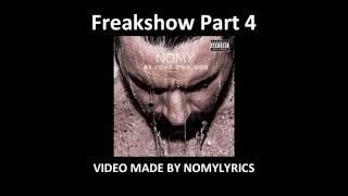 Nomy - Freakshow Part 4 / Lyrics