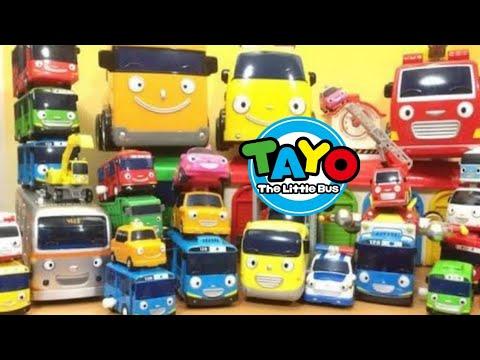 Belajar Warna dari Kartun Tayo the little bus - Mengenal Warna Bahasa Indonesia - kids learning