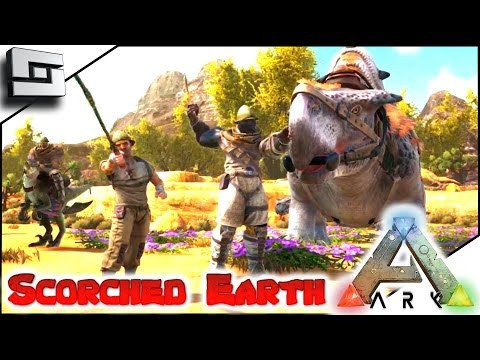 ARK: Scorched Earth - BOOMERANG! WHIP! NEW SERIES!! Ep2 ( Scorched Earth Map Gameplay )