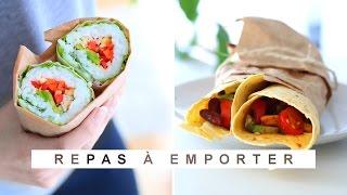 2 idées de lunch box - Recette Healthy