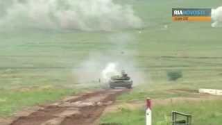 t 72 tank live firing indra 2012 indian russian military exercises india russia video ria novosti