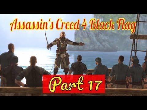 Assassin's Creed 4 Black Flag Walkthrough Part 17 - A Single Madmen Let's Play