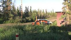 Driving tour of Ft  Yukon Alaska, July 14, 2011