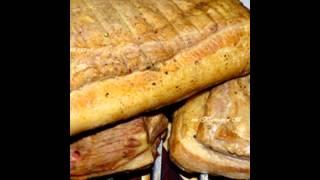 Холодные закуски мясные:Свинина бутербродная мокрого посола