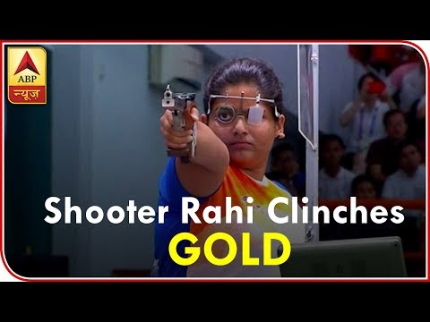 Asian Games: Indian Shooter Rahi Sarnobat Clinches GOLD In Women's 25m Air Pistol Event | ABP News