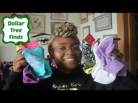 Dollar Tree Haul #129- SOCKS GALORE AND MORE!!