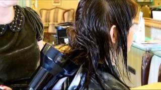 як зробити укладку дифузор волосся