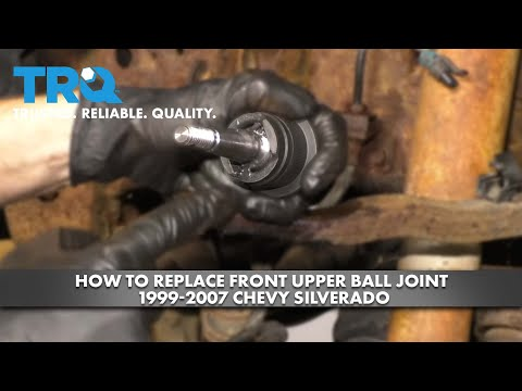 How to Replace Front Upper Ball Joint 1999-07 Chevy Silverado