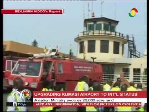 Aviation Ministry secures 26000 acre land to expand Kumasi Airport - 3/4/2016