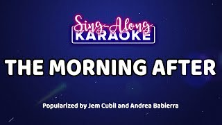 The Morning After — Jem Cubil and Andrea Babierra  [Official Sing-Along Version]