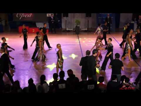 WDSF Greek Open 2015: WDSF World Open Latin: 1/8 Final