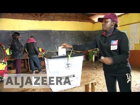 Polls close as violence mars Kenya election rerun