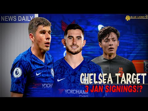 CHELSEA TO MAKE 3 BIDS THIS JANUARY? || WHO ARE THE 3 TRANSFER TARGERTS?