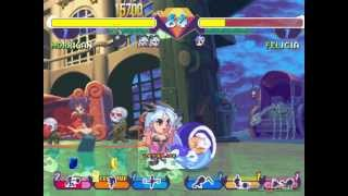 Pocket Fighter - Gameplay PSX / PS1 / PS One / HD 720P (Epsxe)