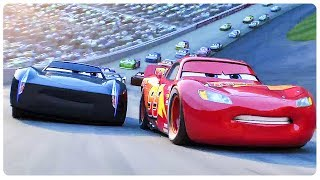 "Cars 3 ""Lightning McQueen Vs Jackson Storm"" (2017) Disney Pixar Animated Movie HD"