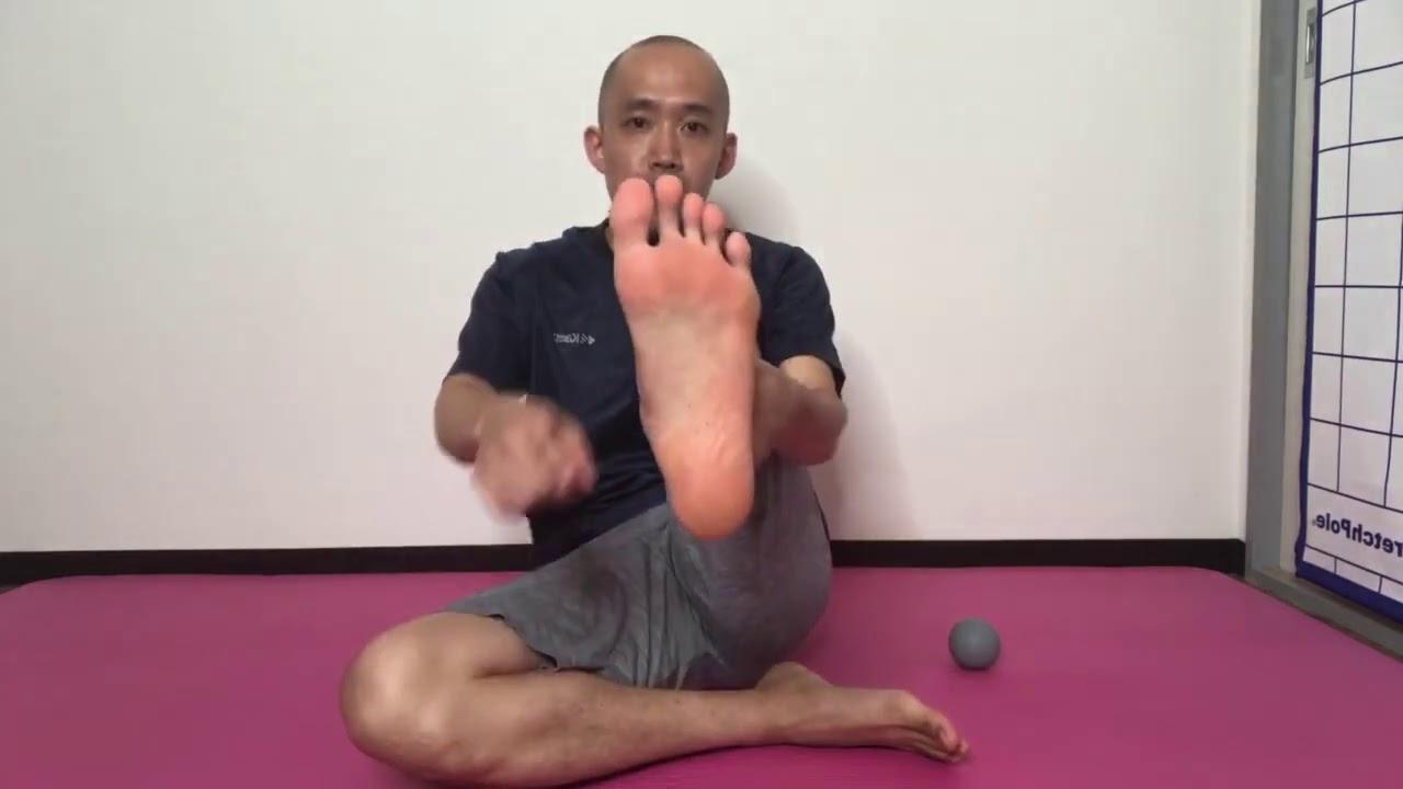 足首の柔軟性&体幹の使い方(部分カット)