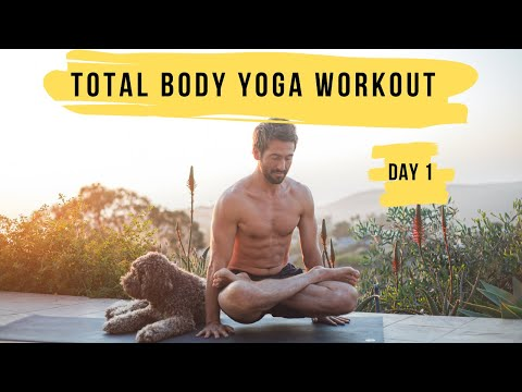 The Total Body Yoga Workout Challenge Day 1