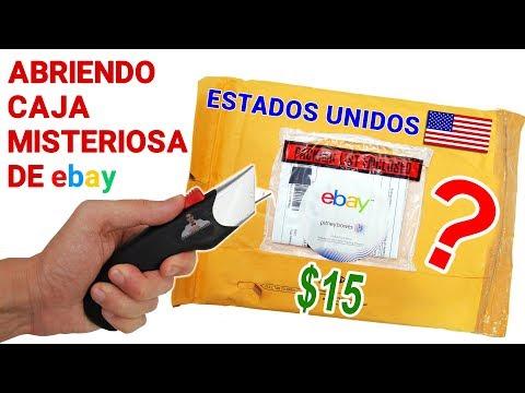 Abriendo Caja Misteriosa de Ebay de ESTADOS UNIDOS de $15 📦❓ | Caja Sorpresa