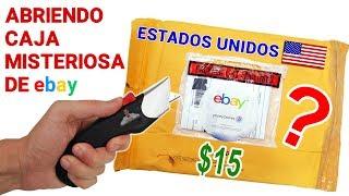 Abriendo Caja Misteriosa de Ebay de ESTADOS UNIDOS de $15 📦❓   Caja Sorpresa