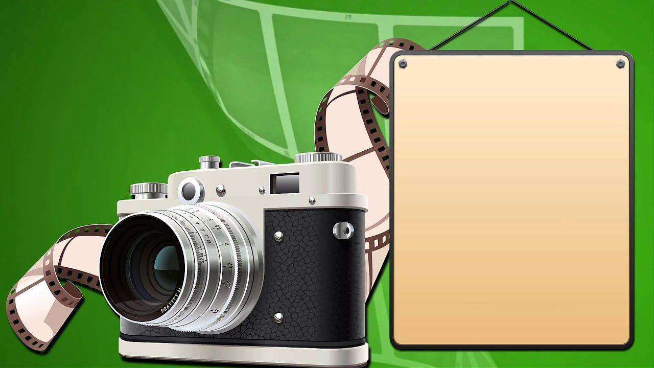 Рамки картинки с фотоаппаратом