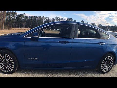 2018 Ford Fusion Hybrid Jacksonville Swansboro New Bern ...