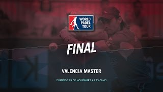 DIRECTO | FINALES Valencia Master | World Padel Tour 2015