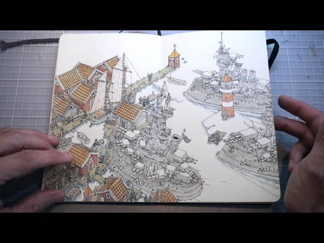 Mattias Adolfsson Sketchbook 31