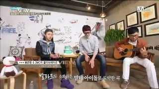 BEAST/B2ST - Yong Junhyung singing On Rainy Days (acoustic version)