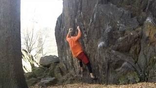 Bouldering : Central Park NYC : Rat Rock : Wadsworth