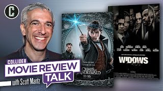 Fantastic Beasts 2,  Widows – Movie Review Talk with Scott Mantz