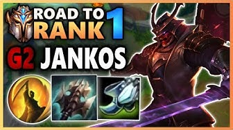 Challenger Shen shows G2 Jankos who really owns the map - Road To Rank 1 (#32)
