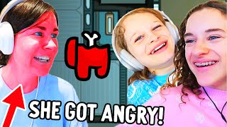 WE PRANKED MAMA (she got angry) in Among Us Gaming w/ The Norris Nuts