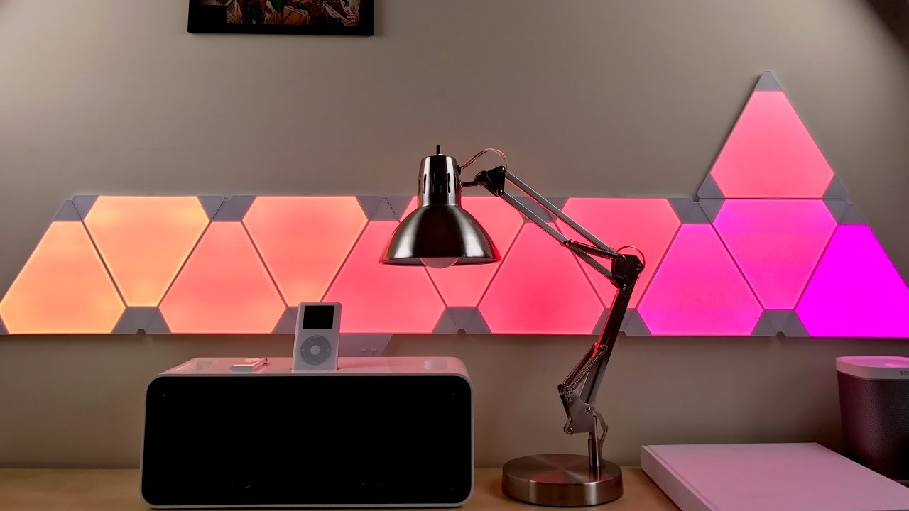 innovative design 8cef0 8a28c Hands-on: Nanoleaf Aurora smart lighting panels with Apple's HomeKit