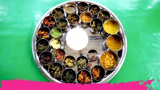 The BIGGEST THALI in Kaziranga National Park at Orchid Park - 28 ITEMS! | Assam, India