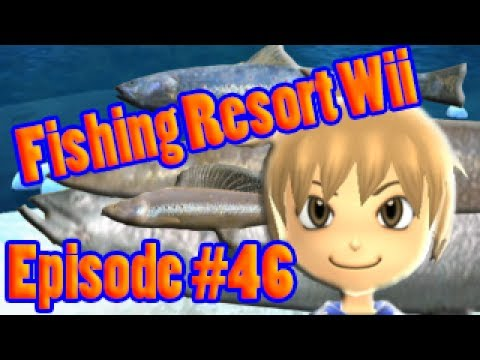 Fishing resort wii episode 46 just why king salmon for Fishing resort wii