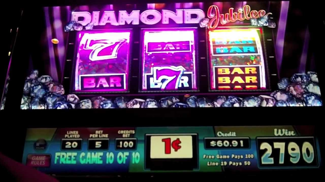 diamond slot machine