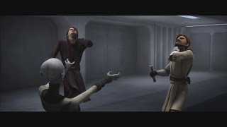 Star Wars: The Clone Wars - Asajj Ventress vs. Anakin & Obi-Wan [1080p]