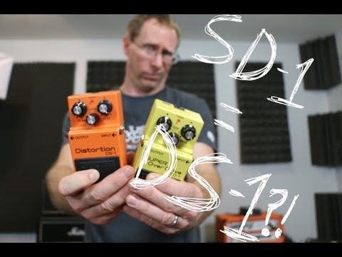 Nerdy Circuit Stuff.... Comparing the Boss SD-1 with the DS-1