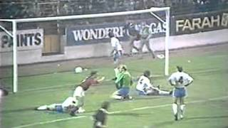 N Forest v C Palace League Cup 3rd Rd replay 5/11/86